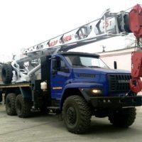ЧМЗ освоил выпуск автокранов Челябинец на газовом шасси